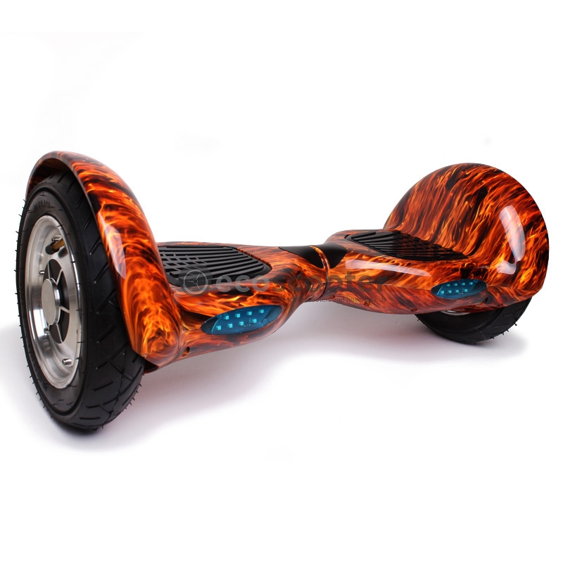 tasapainoskootteri hoverboard 10 tuumaa bluetooth liekit. Black Bedroom Furniture Sets. Home Design Ideas
